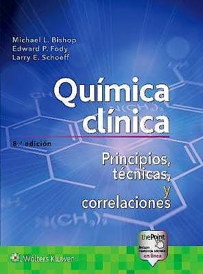 Portada del libro 9788417370343 Química Clínica. Principios, Técnicas y Correlaciones