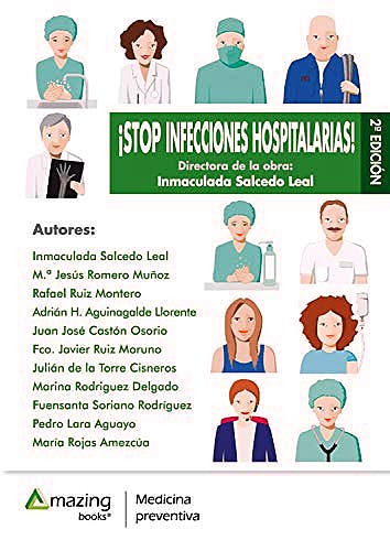 Portada del libro 9788417403201 ¡Stop Infecciones Hospitalarias!