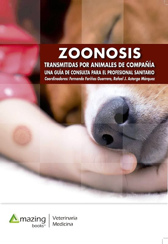 Portada del libro 9788417403324 Zoonosis Transmitidas por Animales de Compañía. Una Guía de Consulta para el Profesional Sanitario