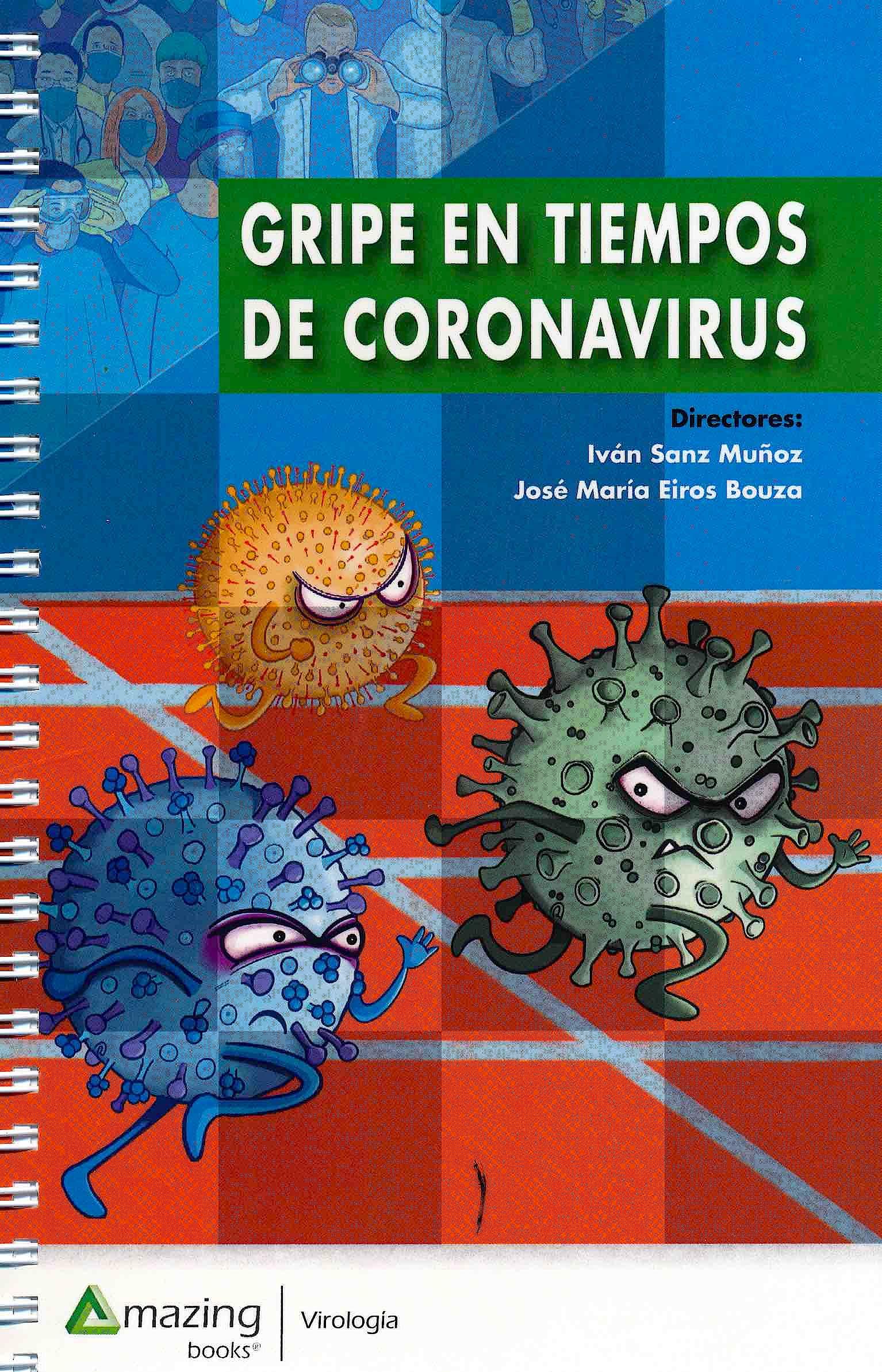 Portada del libro 9788417403775 Gripe en Tiempos de Coronavirus