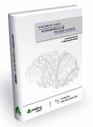 Portada del libro 9788417403812 Anuario 2021 Actas Españolas de Psiquiatría