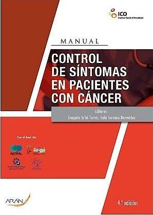 Portada del libro 9788417554514 Control de Síntomas en Pacientes con Cáncer. Manual