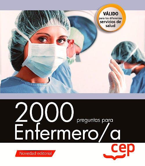 Portada del libro 9788417576639 2000 Preguntas para Enfermero/a