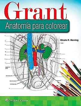 Portada del libro 9788417602505 Grant Anatomía para Colorear