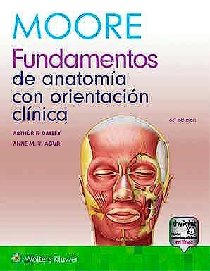 Portada del libro 9788417602512 MOORE Fundamentos de Anatomía con Orientación Clínica