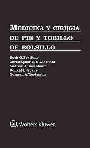 Portada del libro 9788417602925 Medicina y Cirugía de Pie y Tobillo de Bolsillo