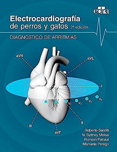 Portada del libro 9788417640286 Electrocardiografía de Perros y Gatos. Diagnóstico de Arritmias