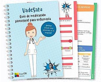 Portada del libro 9788417655433 VADESATU. Guía de Medicación Parenteral para Enfermería (Incluye Anexos para Sobrevivir en el Hospital)
