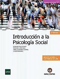 Portada del libro 9788417765026 Introducción a la Psicología Social