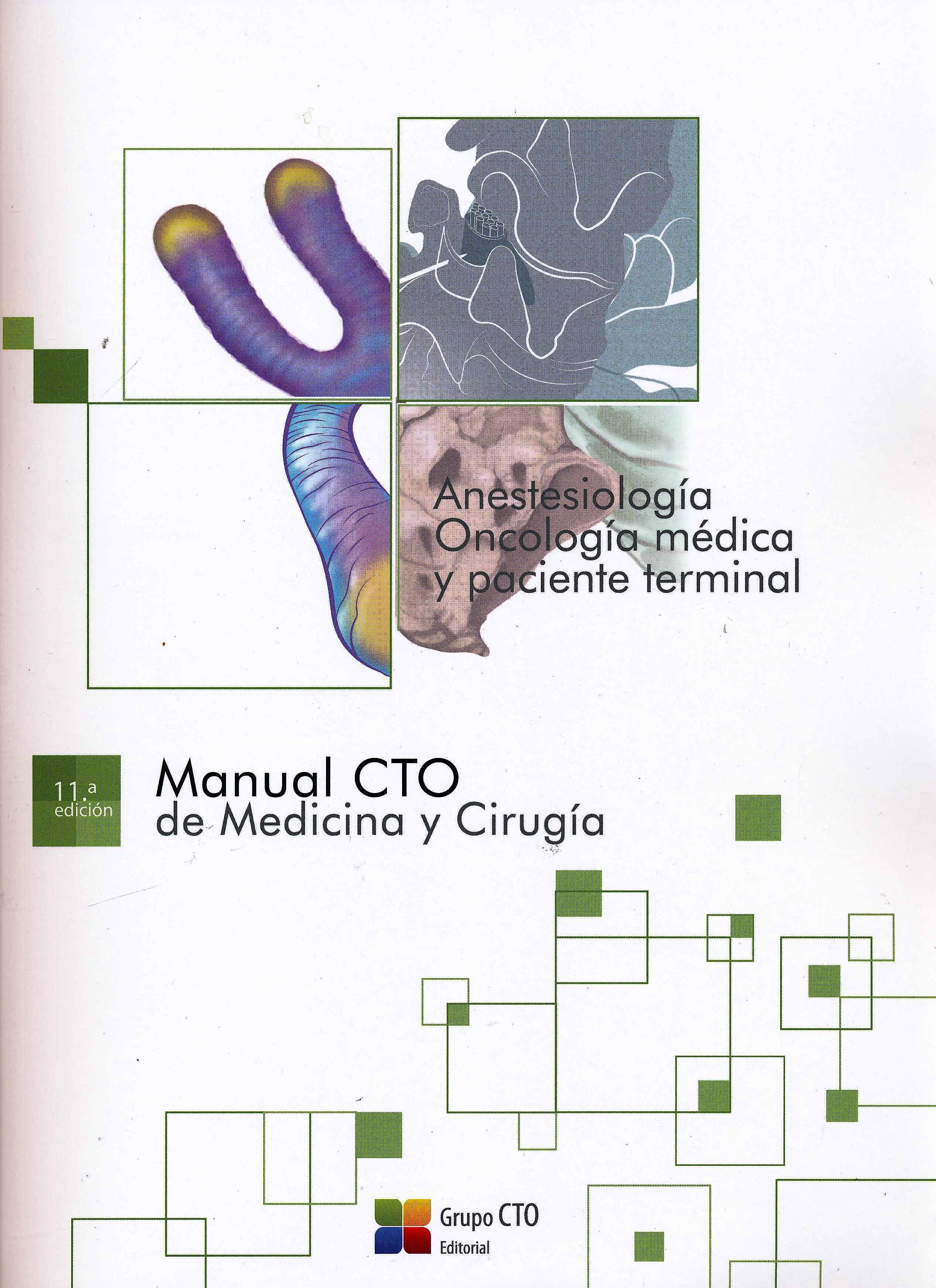 Portada del libro 9788417861766 Manual CTO de Medicina y Cirugía, 21 Separatas
