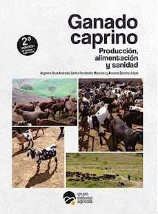 Portada del libro 9788417884109 Ganado Caprino. Producción, Alimentación y Sanidad