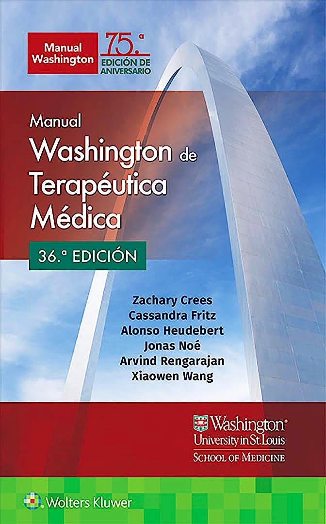 Portada del libro 9788417949006 Manual Washington de Terapéutica Médica