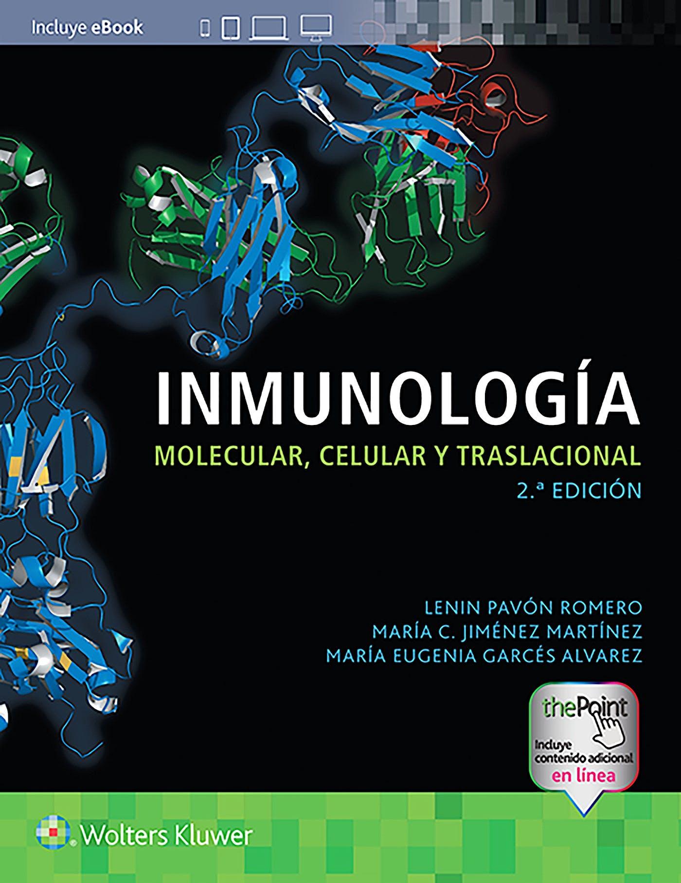 Portada del libro 9788417949181 Inmunología Molecular, Celular y Traslacional