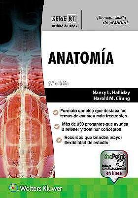 Portada del libro 9788417949525 Anatomía (Serie Revisión de Temas)