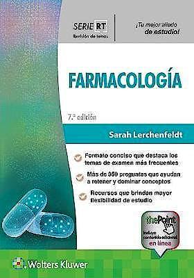 Portada del libro 9788417949563 SRT Farmacología (Serie Revisión de Temas)