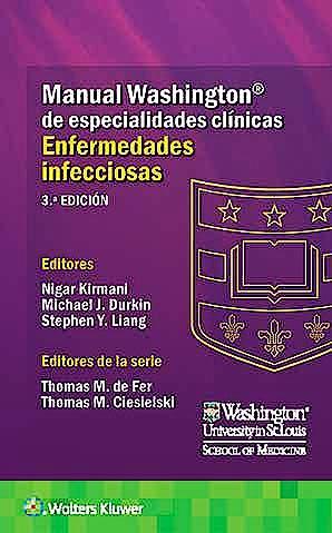 Portada del libro 9788417949730 Manual Washington de Especialidades Clínicas: Enfermedades Infecciosas