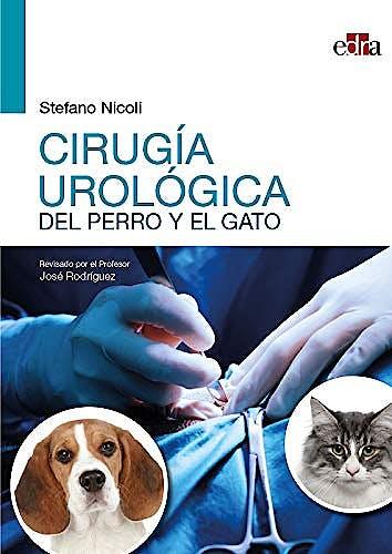 Portada del libro 9788418020070 Cirugía Urológica del Perro y el Gato