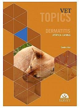 Portada del libro 9788418020100 Vet Topics. Dermatitis Atópica Canina