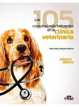 Portada del libro 9788418020810 Las 105 Consultas más Frecuentes en la Clínica Veterinaria