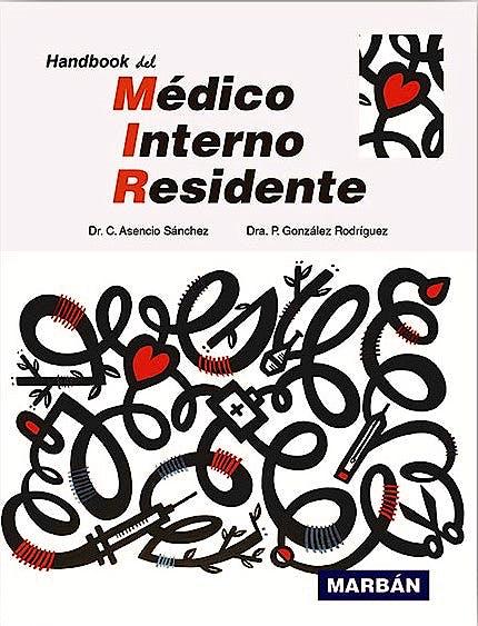 Portada del libro 9788418068362 Handbook del Médico Interno Residente