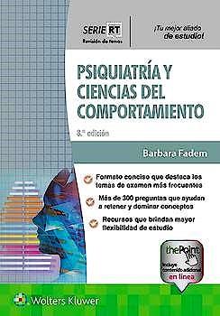 Portada del libro 9788418257209 Psiquiatría y Ciencias del Comportamiento (Serie Revisión de Temas)