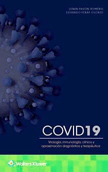 Portada del libro 9788418257261 COVID19. Virología, Inmunología, Clínica y Aproximación Diagnóstica y Terapéutica