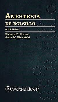 Portada del libro 9788418257360 Anestesia de Bolsillo