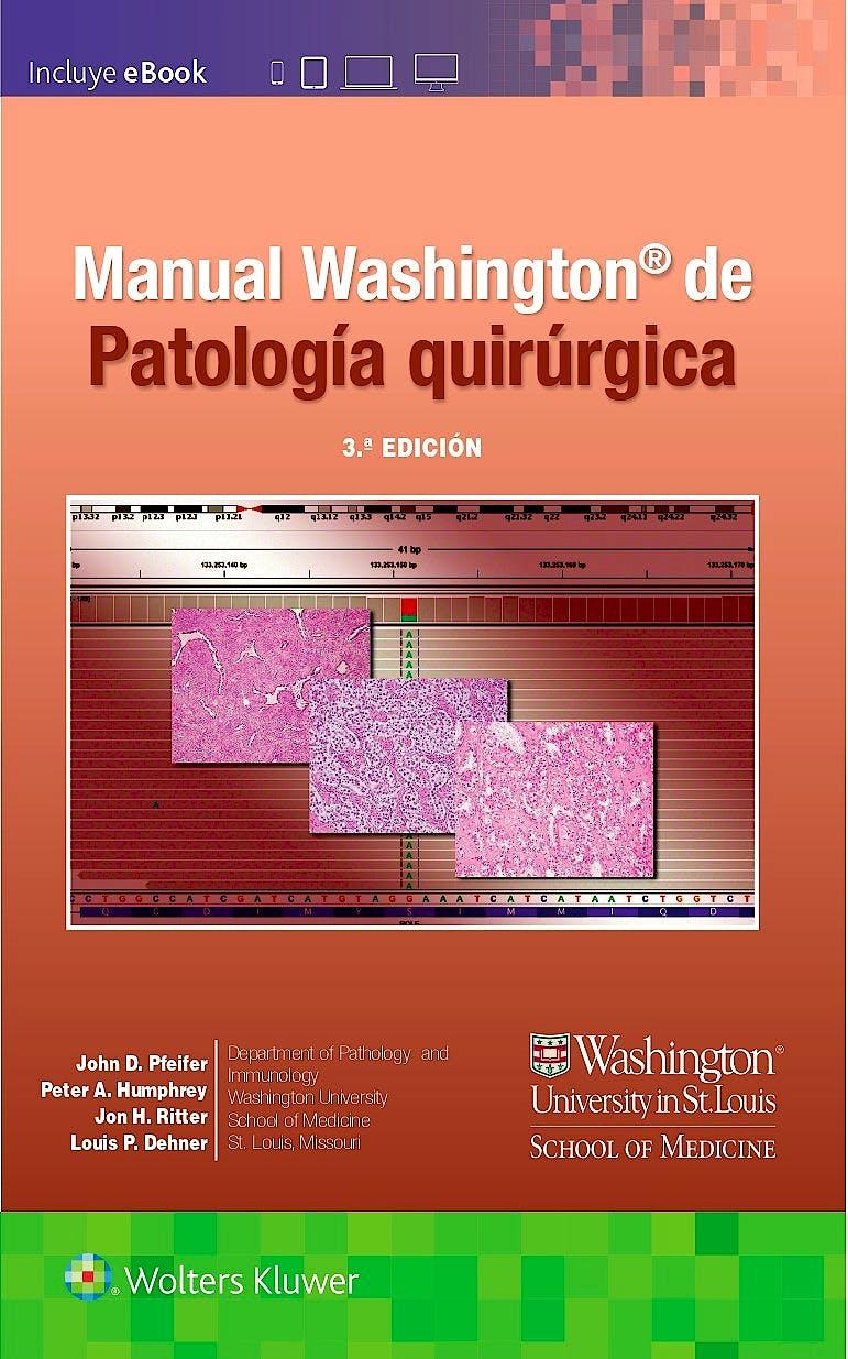 Portada del libro 9788418257537 Manual Washington de Patología Quirúrgica