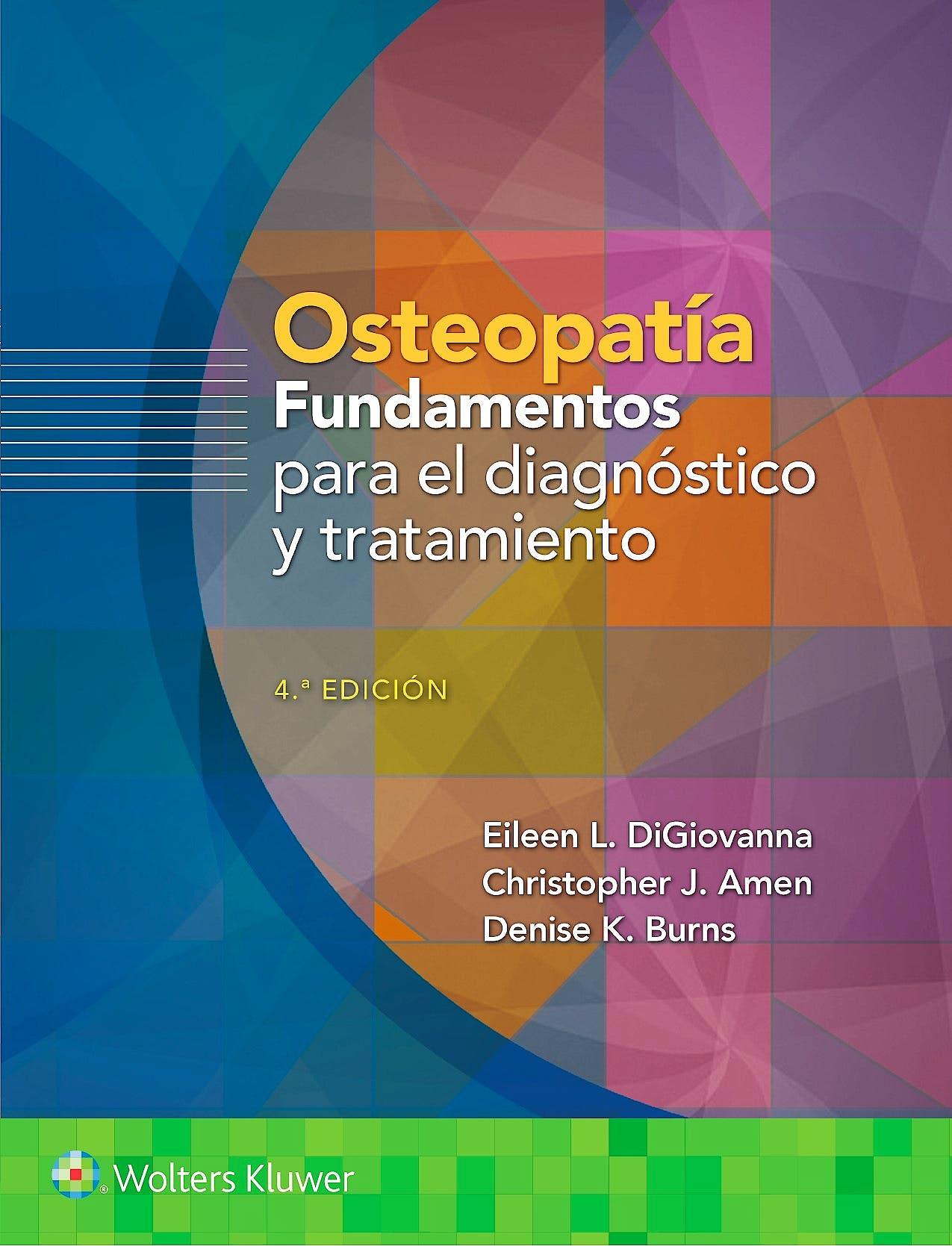 Portada del libro 9788418257674 Osteopatía. Fundamentos para el Diagnóstico y el Tratamiento