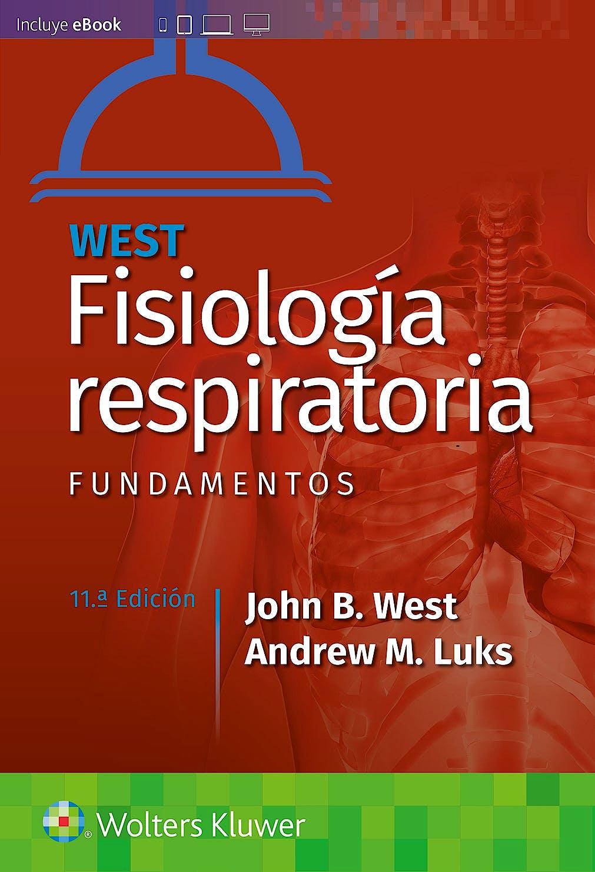 Portada del libro 9788418257803 WEST Fisiología Respiratoria. Fundamentos