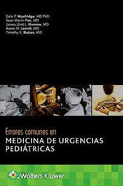 Portada del libro 9788418257865 Errores Comunes en Medicina de Urgencias Pediátricas