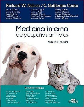 Portada del libro 9788418339240 Medicina Interna de Pequeños Animales