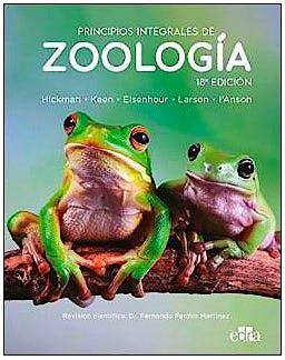 Portada del libro 9788418339486 Principios Integrales de Zoología