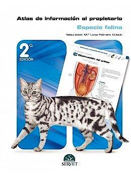 Portada del libro 9788418339516 Atlas de Información al Propietario. Especie Felina