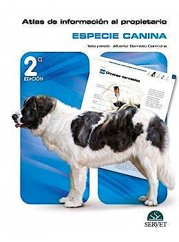 Portada del libro 9788418339523 Atlas de Información al Propietario. Especie Canina