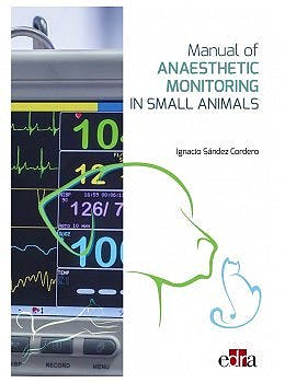 Portada del libro 9788418339585 Manual of Anaesthetic Monitoring in Small Animals