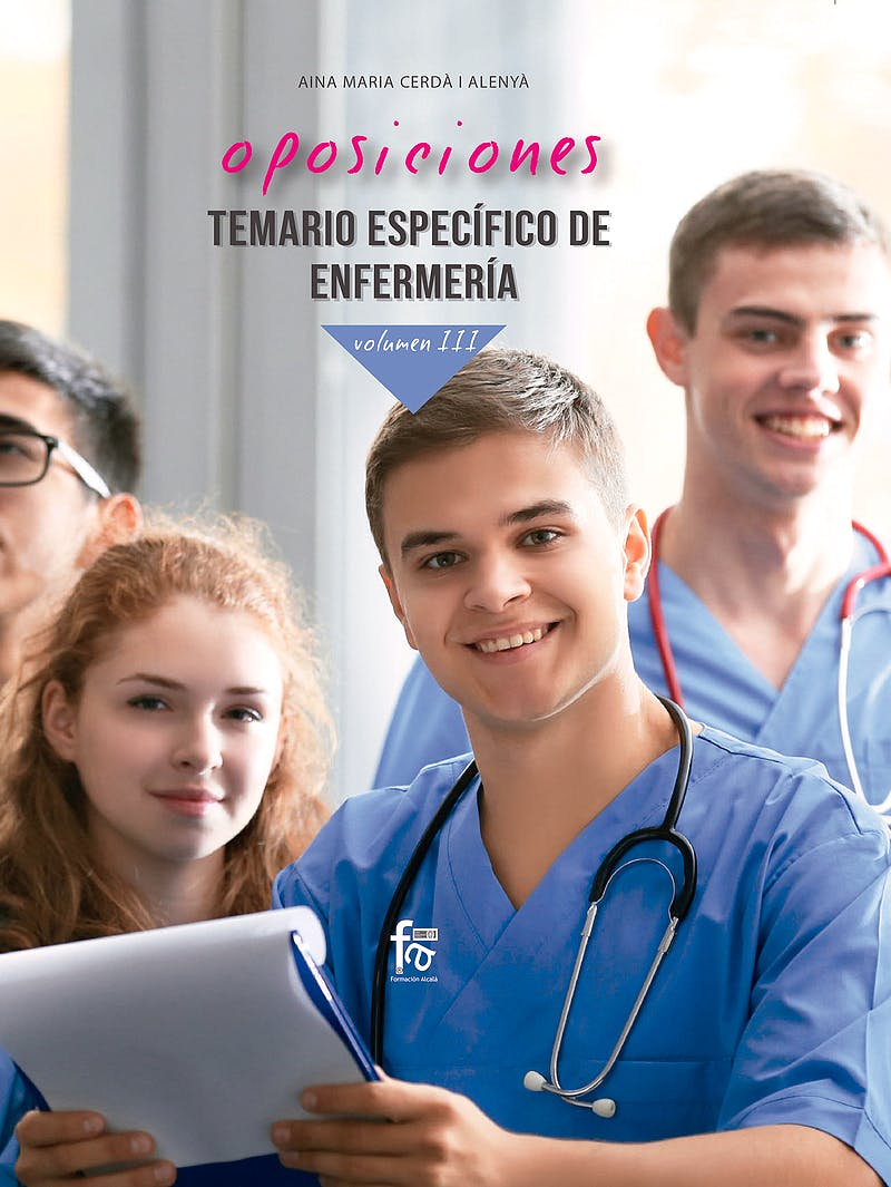 Portada del libro 9788418418013 Oposiciones Temario Específico de Enfermería, Vol. III