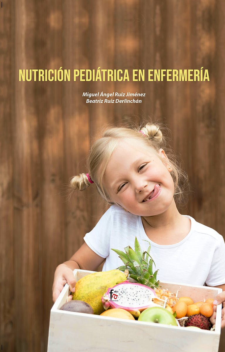 Portada del libro 9788418418501 Nutrición Pediátrica en Enfermería