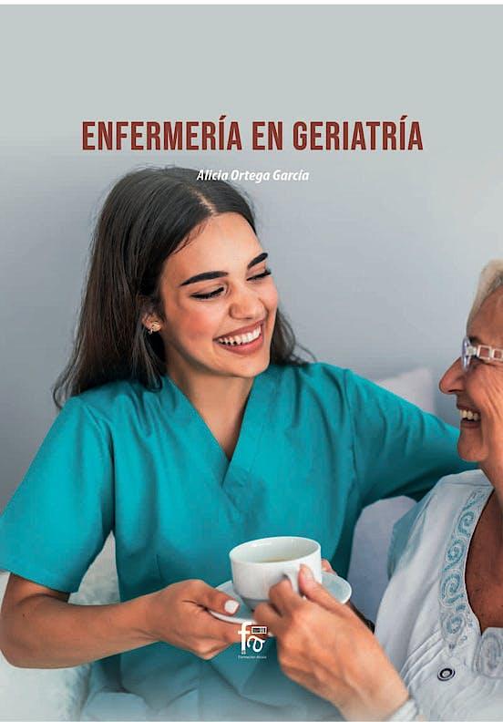 Portada del libro 9788418418815 Enfermería en Geriatría