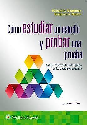 Portada del libro 9788418563188 Cómo Estudiar un Estudio y Probar una Prueba. Análisis Crítico de la Investigación Clínica Basada en Evidencia