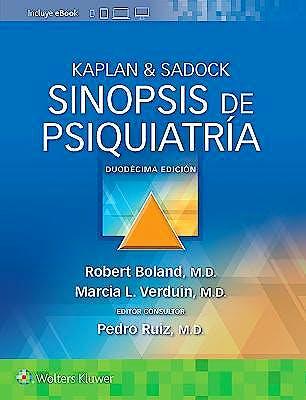 Portada del libro 9788418563768 KAPLAN & SADOCK Sinopsis de Psiquiatría