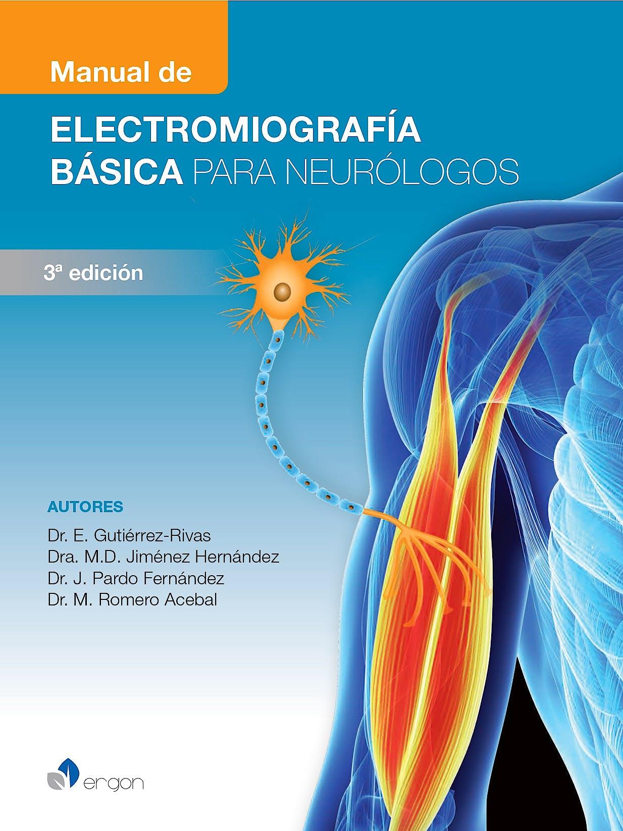 Portada del libro 9788418576232 Manual de Electromiografía Básica para Neurólogos