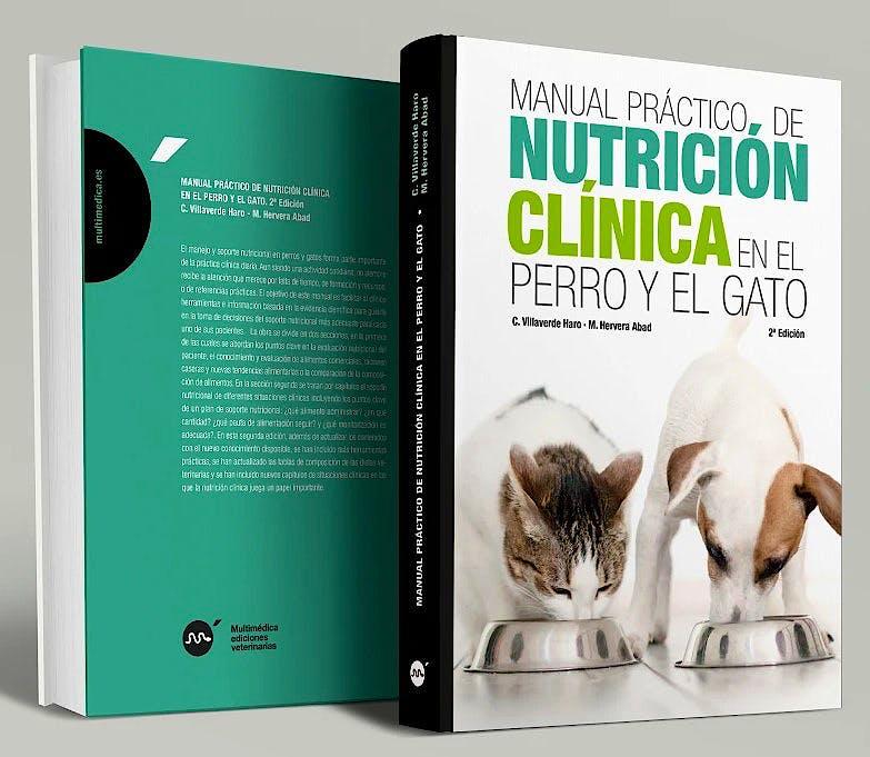 Portada del libro 9788418636028 Manual Práctico de Nutrición Clínica en el Perro y en el Gato