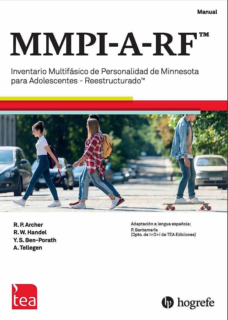Portada del libro 9788418745034 MMPI-A-RF™ Inventario Multifásico de Personalidad de Minnesota para Adolescentes-Reestructurado™ (Manual, 10 Cuadernillos, Kit Corrección 25 usos)