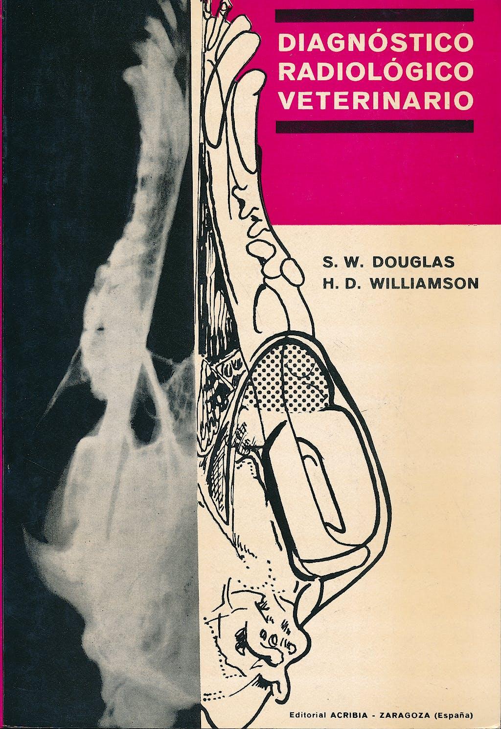 Portada del libro 9788420003788 Diagnostico Radiologico Veterinario