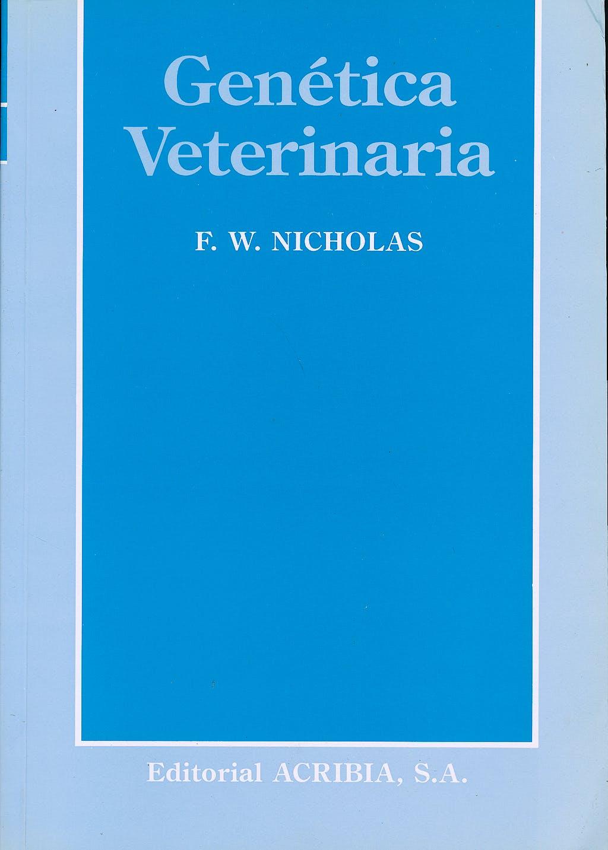 Portada del libro 9788420006840 Genetica Veterinaria