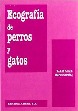 Portada del libro 9788420008158 Ecografia de Perros y Gatos