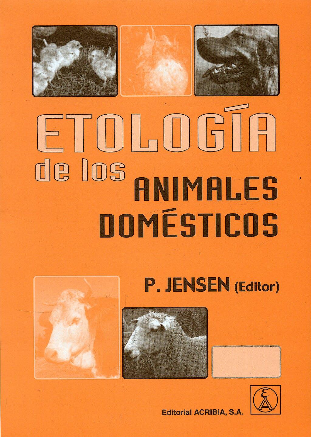 Portada del libro 9788420010328 Etologia de los Animales Domesticos