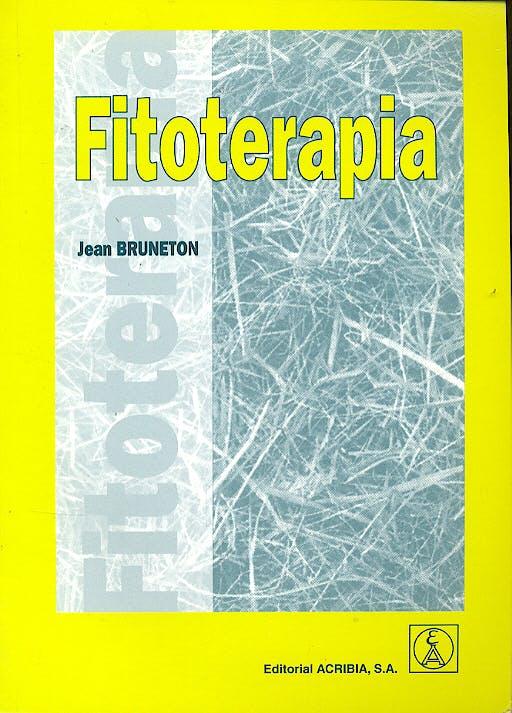 Portada del libro 9788420010342 Fitoterapia