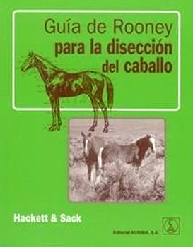 Portada del libro 9788420010397 Guia de Rooney para la Diseccion del Caballo